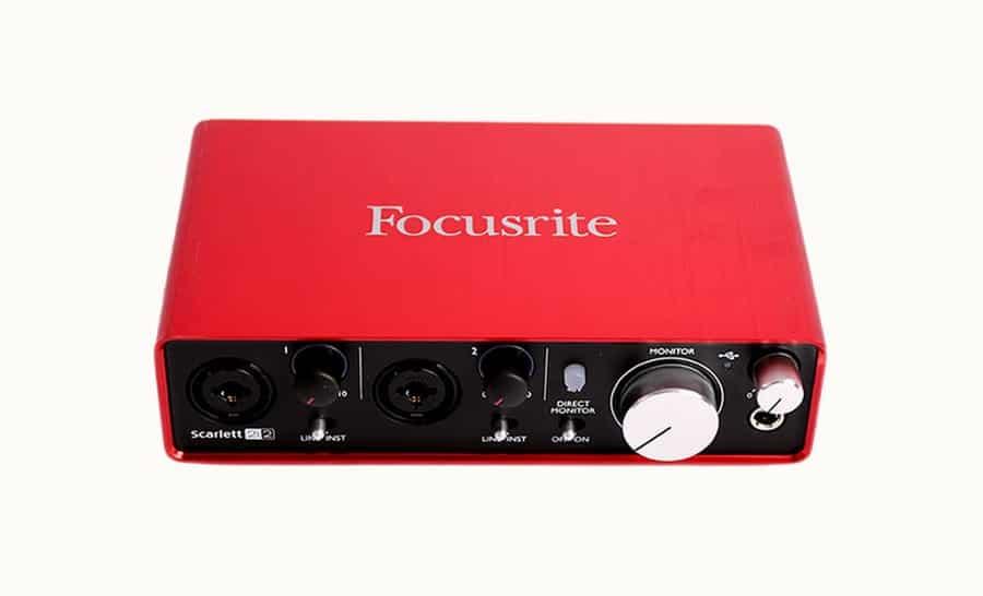 focusrite scarlett 2i2 drivers free download