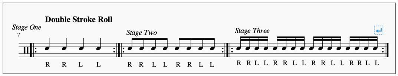 double stroke roll