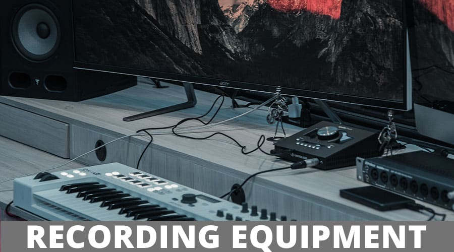 home recording equipment